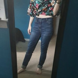 Luck brand high waisted jeans